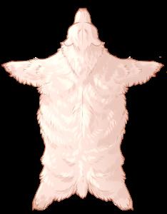 Bear Pelt - Albino