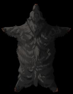 Bear Pelt - Melanistic