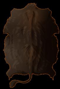 Bovine Hide - Melanistic
