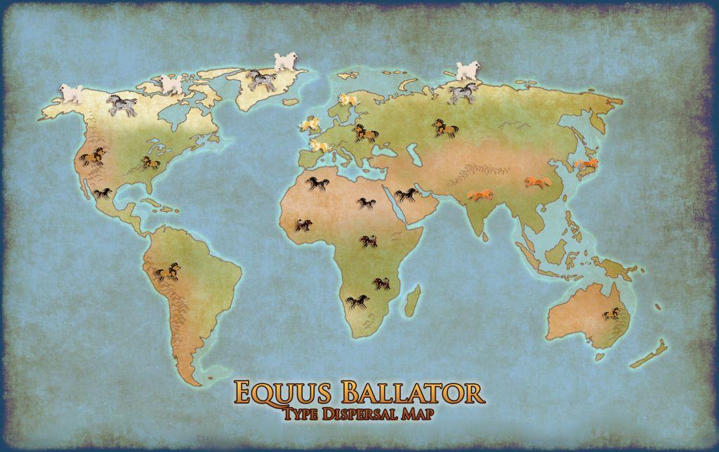 Type Dispersal Map