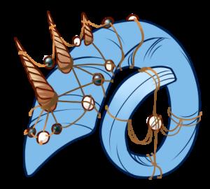 Tidal Horn Decor