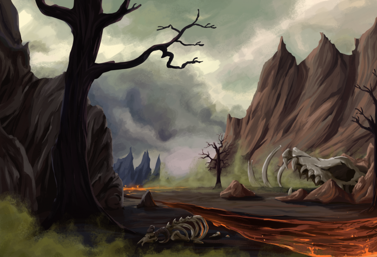 The Charred Plains