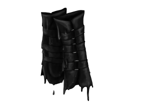 Tar Covered Bracers